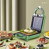 HHORD Mini Macchina per Waffle - Piastra per Waffle Antiaderente,Waffle Maker Professionale