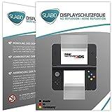 Slabo 2 x Displayschutzfolie kompatibel mit New Nintendo 3DS Displayschutz Schutzfolie Folie No Reflexion   Keine Reflektion MATT
