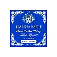 HANNABACH シルバースペシャル E8154HT Blue D 4弦