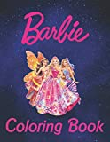 Barbie Coloring Book: 100+coloring pictures for kids and adults with all favorite Barbie characters. Good for children of all ages (high quality)