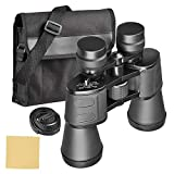 SOONHUA 10-180x100 Powerful Binoculars High Magnification Long Range Wide Angle Zoom Telescope Professional Binoculars for Adults