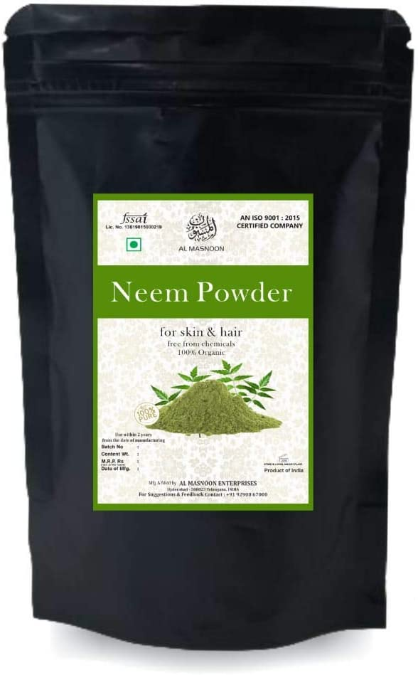 Panihari AL MASNOON Organic Neem Powder for - Year-end gift Skin Face Pack and Challenge the lowest price