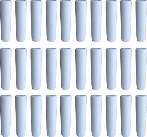 Frühes Forschen 30 Lippenstift-Hülsen weiß, leer, zum Selbstbefüllen - Made IN Germany