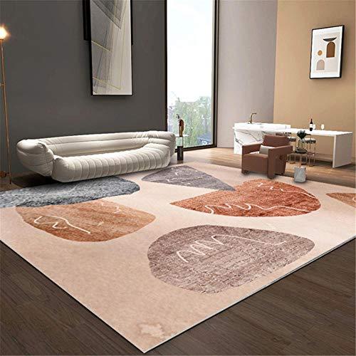 Xiaosua Anti-Staub antihaft-Boden Esszimmer Teppiches Einfache Moderne Mode geometrische...