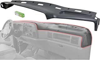 Evan Fischer Dash Cover Overlay compatible with Dodge Full Size Pickup 1994-1997 Graphite Gray