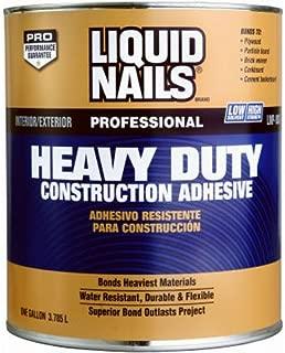 LIQUID NAILS LN-903-QT Heavy Duty Construction Adhesive (Low VOC) (1-Quart)