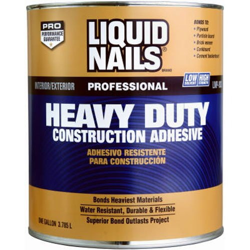 Liquid Nails Heavy Duty Construction Adhesive (LN903-QT), Low VOC,1-Quart