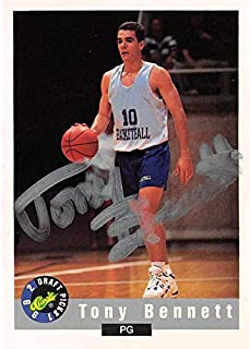 Tony Bennett autographed basketball card (University of Wisconsin Green Bay Phoenix) 1992 Classic Best #4 rookie