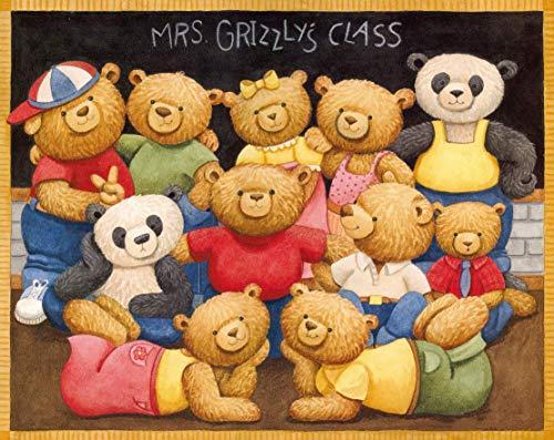 SBXPINTU Bear Classroom.Png Puzzle Holz Spielzeug Erwachsene Spiels Puzzle Klassisches Jigsaw Puzzle 500 Teile