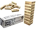 State Capital Trivia Tower - States & Capitals Block Stacking Game for Kids   51 Blocks w/ State Capitals - Match To The State   Fun Educational Games for Students – Memorization, Studying & Teaching