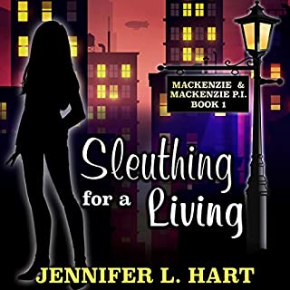 Sleuthing for a Living audiobook cover art