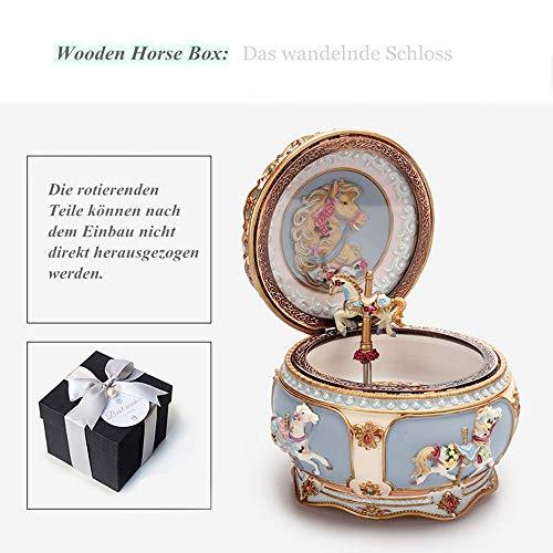 Schmuckkästchen Damen - Baby Constellation Premie Spieluhr ▏Dekorative Box Antike Geschnitzte...