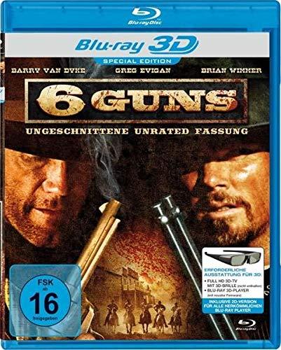 6 Guns (2010) ( Gunslinger ) (3D & 2D) (Blu-Ray)