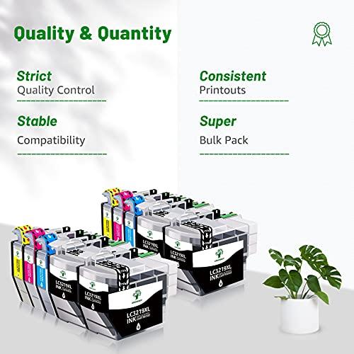 GREENSKY Cartuchos de tinta compatibles con Brother LC3219XL LC3219 LC3217 para Brother MFC-J5330DW MFC-J6930DW MFC-J6530DW MFC-J5730DW MFC-J6935DW MFC-J5335DW MFC-J5930DW (10 unidades)