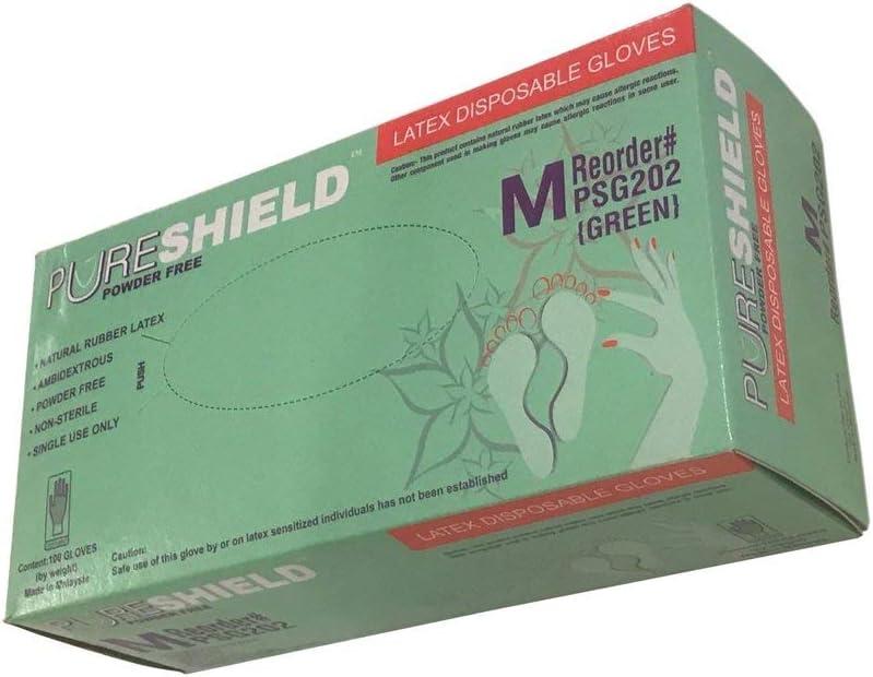 Latex Disposable Gloves Max 80% OFF Powder Medium Free Bx 100ct Finally resale start