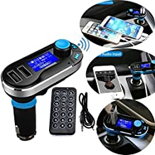 MMOBIEL Bluetooth Wireless MP3 Player FM Transmitter Hands-Free Car Kit Charger Music Dual USB Charging