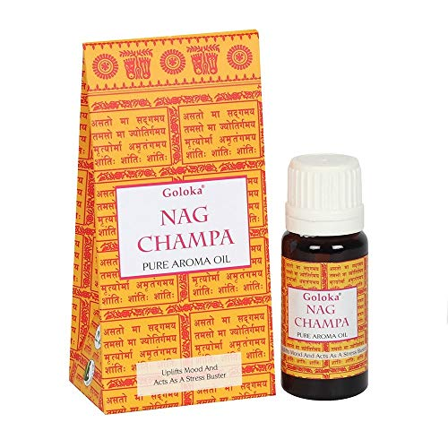 Aceite Esencial Nag Champa 10 ml - Ideal para enriquecer el poder energético