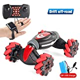 ❤️❤️【Upgraded Rc Stunt Car Toy】-- Newest Stunt Car Double Sided Roll,four-wheel drive climbing stunt car light music electric double-sided special effects toys. The cool action and unlimited fun,giving the child a wonderful operating experience and v...