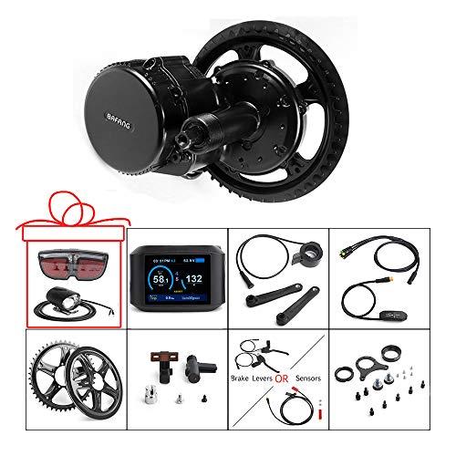 Bafang 48V 750W Mid Drive E-Bike-Umrüstsatz mit HMI-Display BBS02B 8FUN Mid Motor für Bike Kit