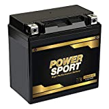ExpertPower YTX20L-BS Battery for Yamaha YFM660F Grizzly 660 4x4 2002-2008