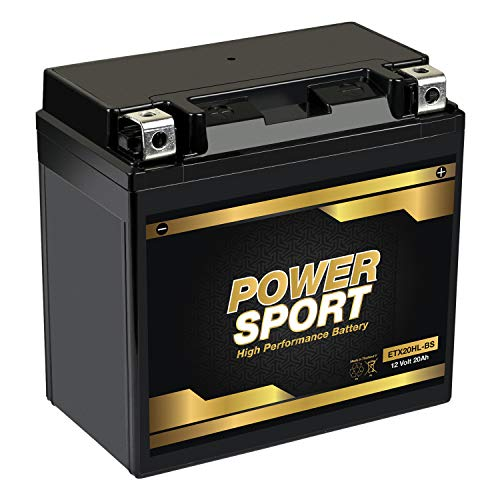 Mighty Max Battery YTX20L-BS Battery for Yamaha YFM660F Grizzly 660 4x4 2002-2008 Brand Product