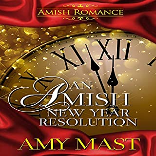 An Amish New Year Resolution audiobook cover art