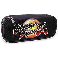 Estuche De Lápices De Cuero Dragon-Ball-Fighterz Para Niñas, Negro