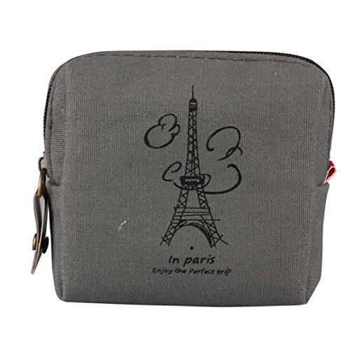 Sannysis Delle nuove donne mini Retro signora borsa Card Holders Clutch Wallet handbag