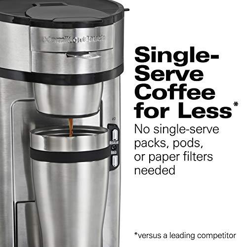 Hamilton Beach 49981A The Scoop Single-Serve Coffee Maker
