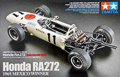 Tamiya 1/20 Grand Prix Collection No.43 Honda RA272 1965 Mexico GP Winning car 20043