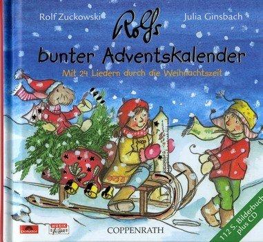 Rolfs bunter Adventskalender (+CD): Bilderbuch
