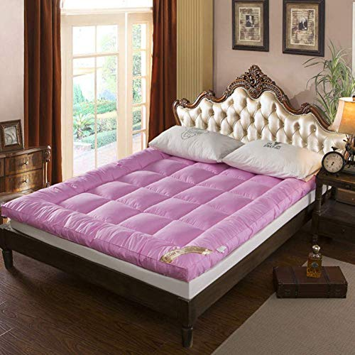 QINFEN Bed mattress,Feather velvet Soft mattress,Five-star Quilted mattress,Thickness 10cm Student Dormitory Home Bedroom 0.9 1.2m-B 180x200cm(71x79inch)