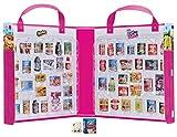 Shopkins HPKF9000 Flair Real Littles Mini Packs Collector's Case, Multicolour