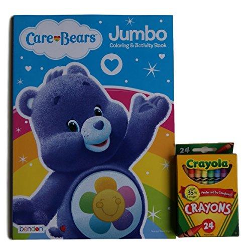 Care Bears ''Harmony Bear'' Jumbo Coloring and Activity Book with Crayola Crayons