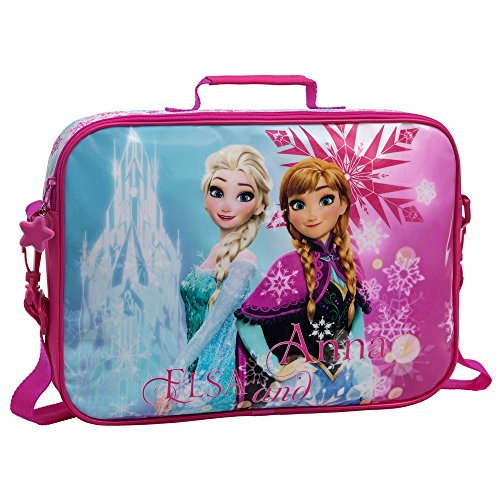 La Reine de Neiges Frozen Ice Set de Sac Scolaire, 38 cm, 7.45 L, Rose