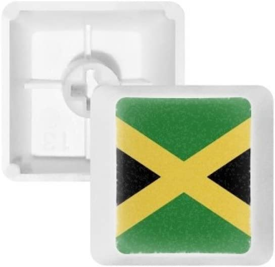 Jamaica National Flag North America Country Keycap Mechanical Keyboard PBT Gaming Upgrade Kit