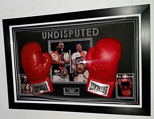 www.strikeautographs.co.uk Wladimir Klitschko und Anthony Joshua Boxhandschuhe, signiert