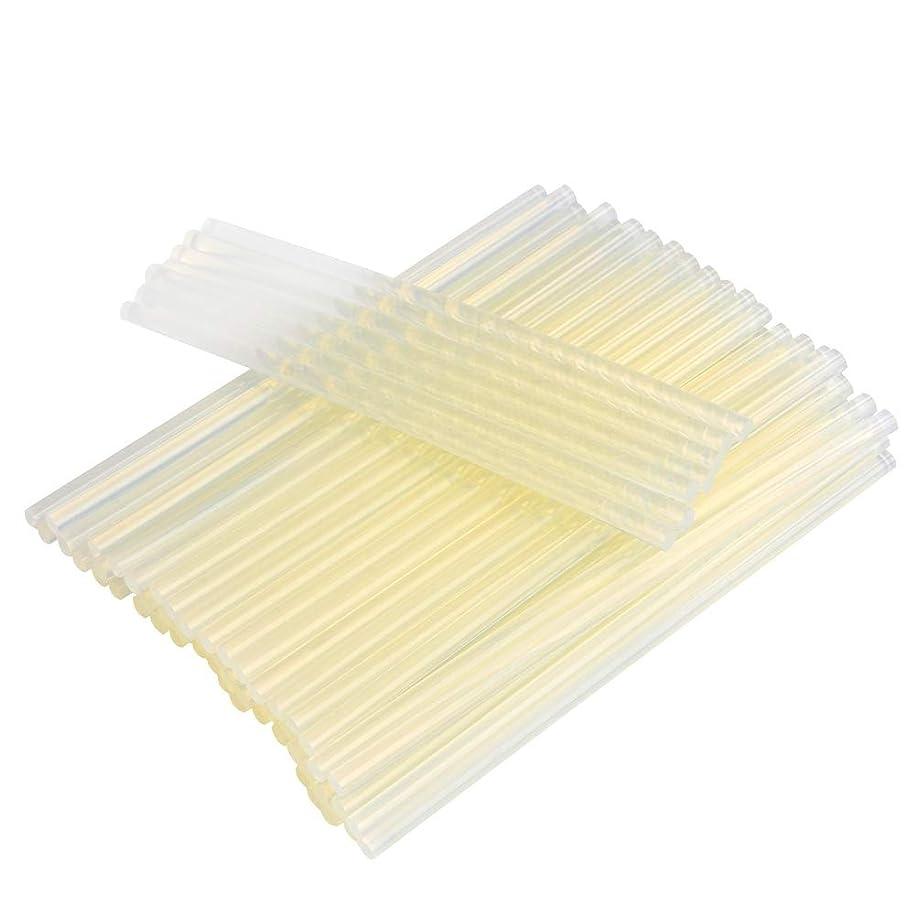 ATPWONZ Long Mini Glue Sticks 60Pcs 0.27 Inch D x 8 Inch L Transparent Melting Gun Sticks All Temperature for DIY Art Craft Repair