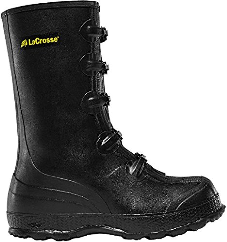 LACROSSE ZXT Buckle Deep Heel Overshoe 14  Black (00267140)   Waterproof   Insulated Modern Comfortable Hunting Combat Boot Best for Mud, Snow