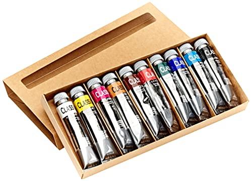 Industria Maimeri 0398100 Colori a Olio, 10 Tubi