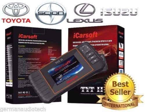 iCarsoft New Version TYTII for Toyota Lexus Isuzu Scion OBD2 Diagnostic Scanner Tool Erase Fault Codes Service Reset Best #1