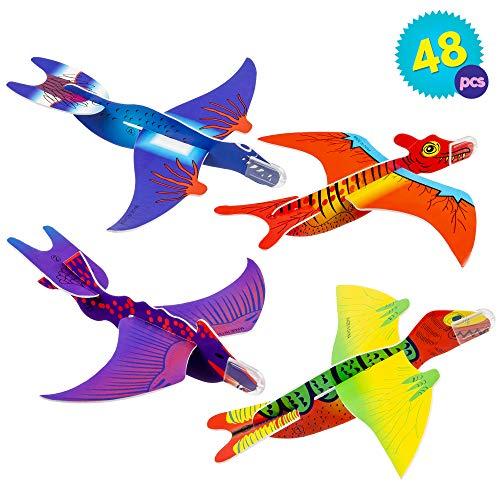 THE TWIDDLERS 48 Aviones planeadores Dinosaurios -