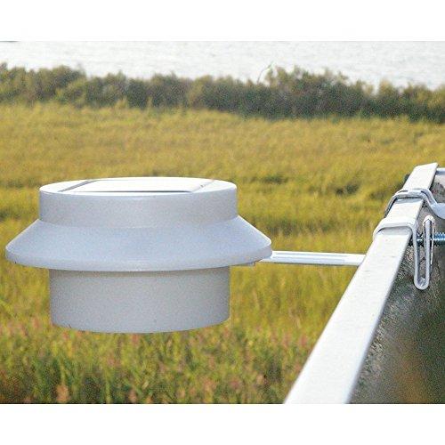 Lámpara de noche en cualquier lugar de iluminación de seguridad en blanco al aire libre con luces LED para patio, valla, jardín, garaje, cobertizo, escaleras.