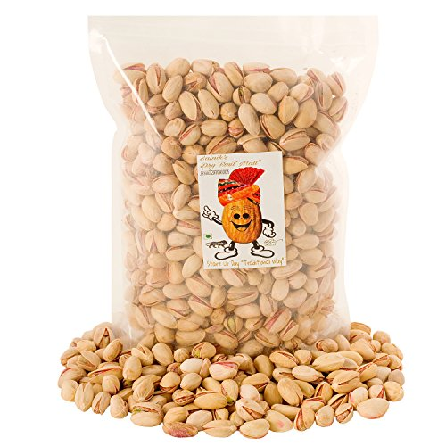 Sainik's Dry Fruit Mall Premium Californian Roasted and Salted Pistachios -250 GM