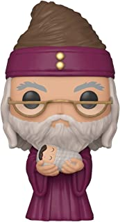 Funko Pop! Harry Potter: Harry Potter - Dumbledore with Baby Harry, Multicolor