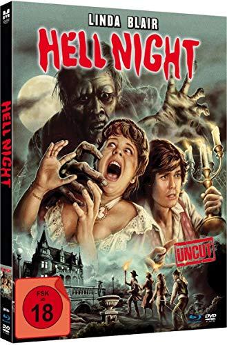 Hell Night - Uncut limited Mediabook-Edition (Blu-ray+DVD plus Booklet/digital remastered)