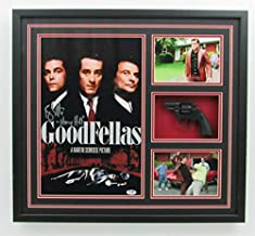 Ray Liotta Autographed Signed/Framed Goodfellas Movie Poster Prop Gun Collage PSA/DNA