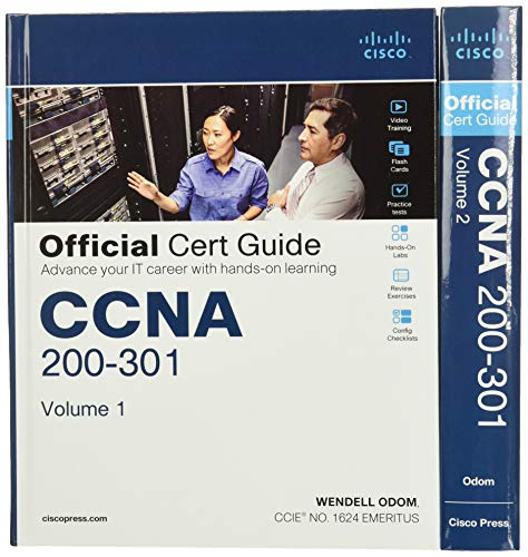 Odom, W: CCNA 200-301 Official Cert Guide Library, 1/e