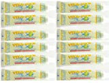 12 Pk VITA-MYR Childrens Xylitol Orange Natural Toothpaste 5.4 Oz -...