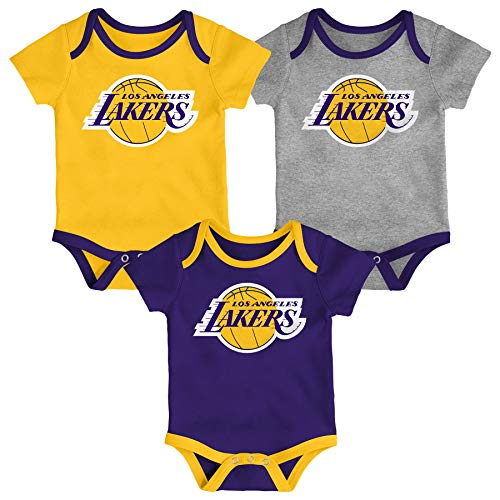 NBA Kinder T-Shirt Los Angeles Lakers Split Screen Basketball Youth Outerstuff